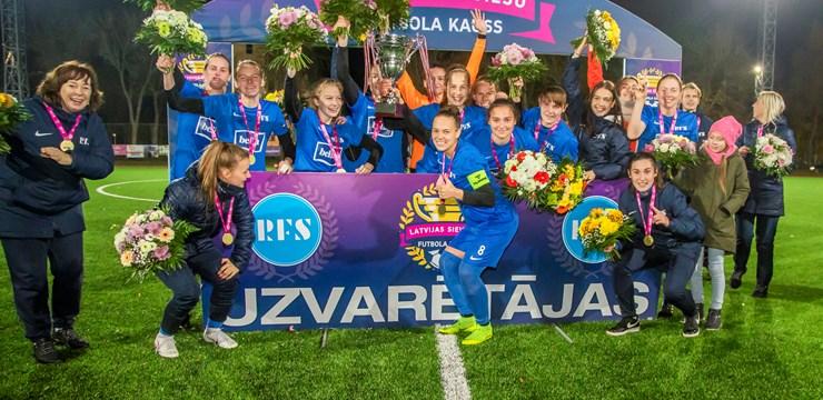 Rīgas Futbola skola izcīna Latvijas kausu
