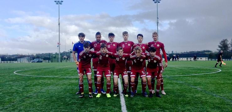LFF Futbola akadēmijas audzēkņi cieš neveiksmi turnīrā Īrijā