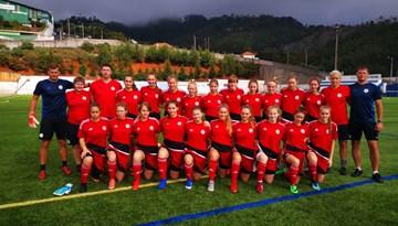 Latvijas U-17 meitenes zaudē Nīderlandei