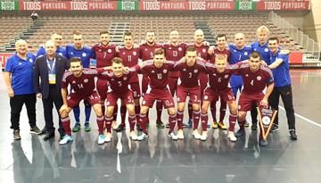 Latvijas izlase apspēlē vāciešus