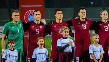 Piesaki savu bērnu kā spēlētāju pavadoni mačā Latvija - Austrija!