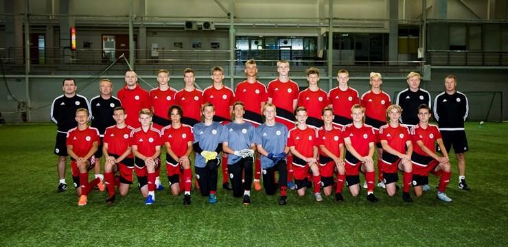 Latvijas U-16 izlase aizvadīs treniņnometni