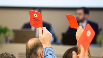 LFF ārkārtas kongress apstiprina jaunos statūtus