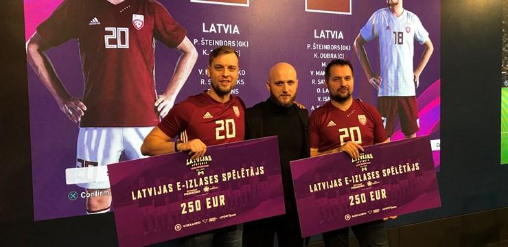 Noskaidroti Latvijas e-futbola izlases dalībnieki