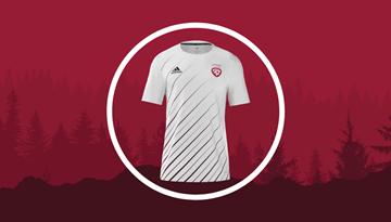 Izvēlēts Latvijas izlases izbraukuma spēļu formas dizains