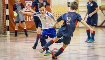 Rīgas kausā futbolā telpās piedalīsies 29 zēnu komandas