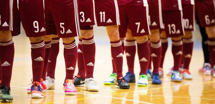 Mediju akreditēšanās Latvijas telpu futbola izlases spēlēm