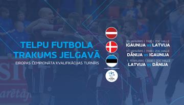 Sākta biļešu tirdzniecība uz EČ kvalifikācijas turnīru telpu futbolā