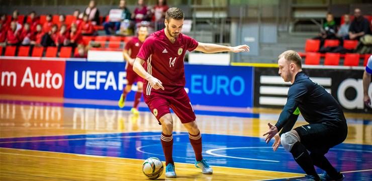 Igaunija apspēlēta bez sevišķām problēmām