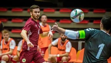 Matjušenko vārti pagarina Latvijas izlases sēriju