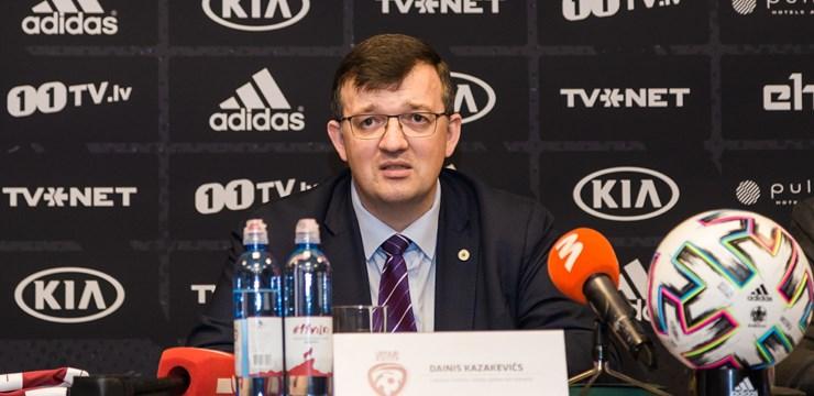Kazakevičs: Man ir svarīga katra spēlētāja motivācija sasniegt ar izlasi rezultātus