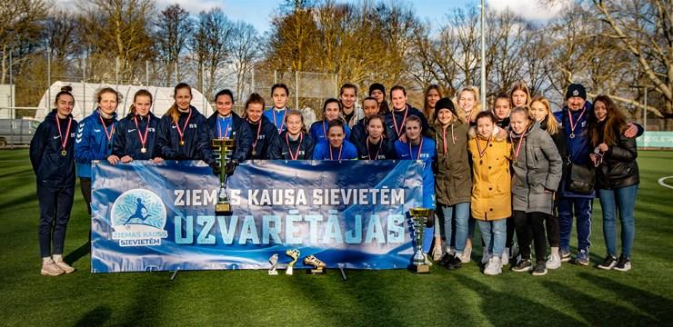 RFS futbolistes triumfē Ziemas kausa izcīņā