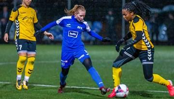 """Baltijas Sieviešu futbola līga startē ar """"Gintra"""" panākumu"""
