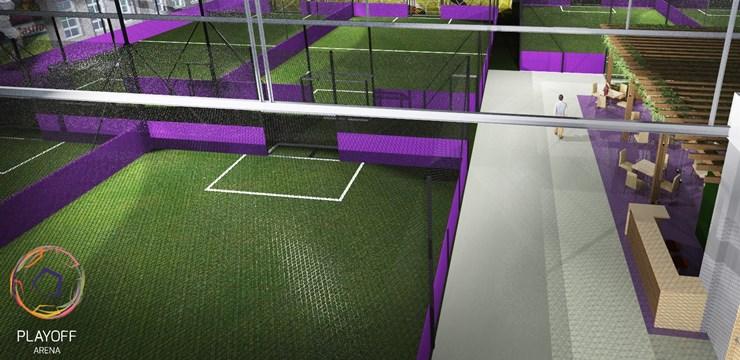 Rīgā top modernākā futbola halle Baltijā