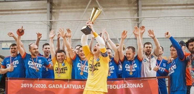 "FK ""Nikars""/""Ghetto"" uzvar telpu futbola 1. līgā"