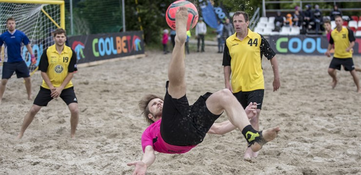 Sākusies Latvijas – Igaunijas pludmales futbola līga