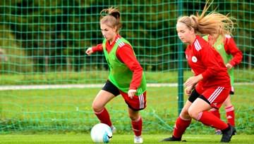 Latvijas WU-19 izlasei selekcijas treniņdiena