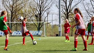 "Latvijas WU-17 izlasei selekcijas treniņi ""Skonto"" hallē"