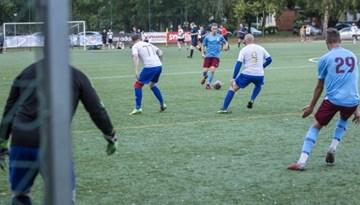 Rīgas minifutbola čempionātā simtprocentīga bilance divām komandām