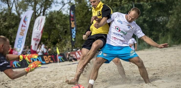 Igauņi nodrošina uzvaru Latvijas-Igaunijas pludmales futbola līgā