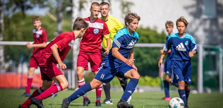 LFF Futbola akadēmijas U-14 audzēkņiem reģionālais turnīrs