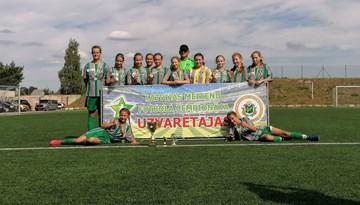 Tukumnieces triumfē Meiteņu čempionāta U-14 Attīstības grupā
