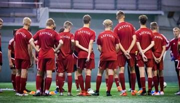 Latvijas U-17 izlasēm atcelti 2021. gada EČ mači