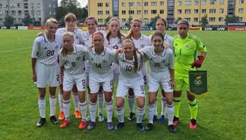 Latvijas WU-17 izlase apspēlē Lietuvu Baltijas kausa ievadā