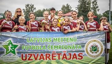 """SK """"Imanta"""" izcīna pirmo vietu meiteņu čempionāta U-12 Attīstības grupā"""