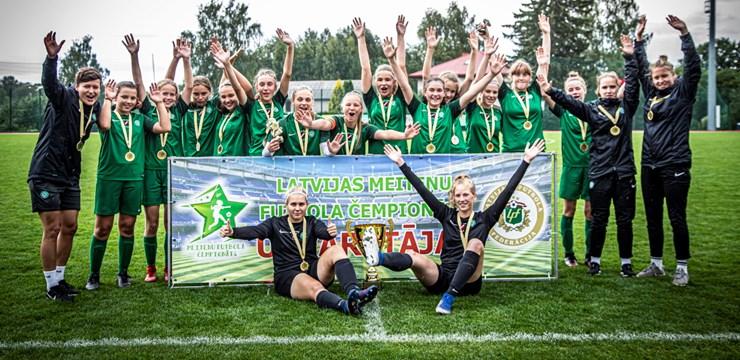 FS Metta spraigā cīņā uzvar meiteņu U-16 čempionātā