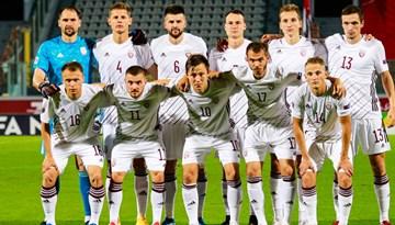 Arī otrajā Nāciju līgas spēlē neizšķirts