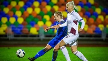 Sieviešu izlase neiztur pārbaudījumu Islandē