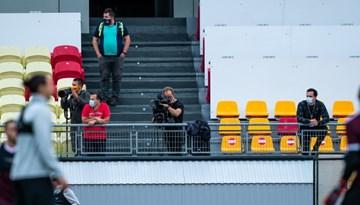 Mediju akreditēšanās UEFA Nāciju līgas spēlei Latvija - Malta