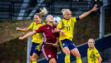 Dāmām pārbaudījums un mācībstunda Zviedrijā