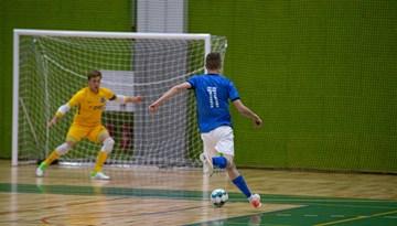 Nedēļas nogalē atsāksies telpu futbola virslīgas turnīrs