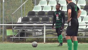 """Gbagvidi no FK """"Auda"""" tiek pie 1. līgas oktobra labākā spēlētāja titula"""