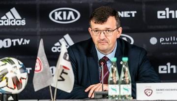 D. Kazakevičs: Lieliska grupa mūsu spēlētāju iespējai apliecināt sevi