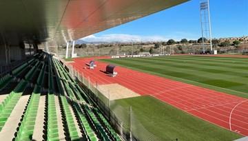 Vadims Ļašenko iepazīstas ar Spānijas Futbola federācijas treniņu centru
