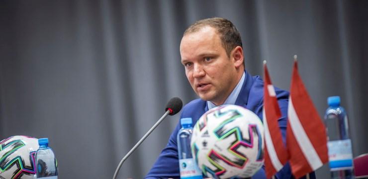 Vadims Ļašenko: Strādājot visiem kopā, varēsim sekmīgi turpināt Latvijas futbola attīstību