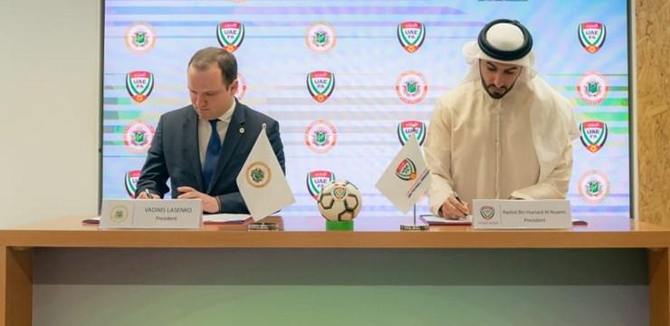 LFF vienojas par sadarbību ar AAE Futbola federāciju