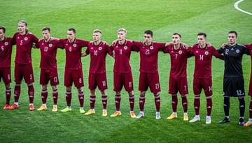 Apstiprināts spēļu kalendārs Latvijas U-21 izlasei