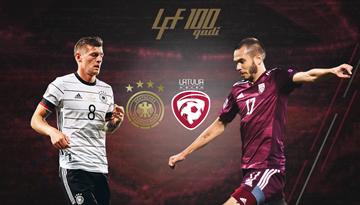 Latvija spēlēs pret četrkārtējo pasaules čempioni Vāciju