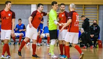 FC Petrow/Jelgava uzvar virslīgas regulārajā sezonā