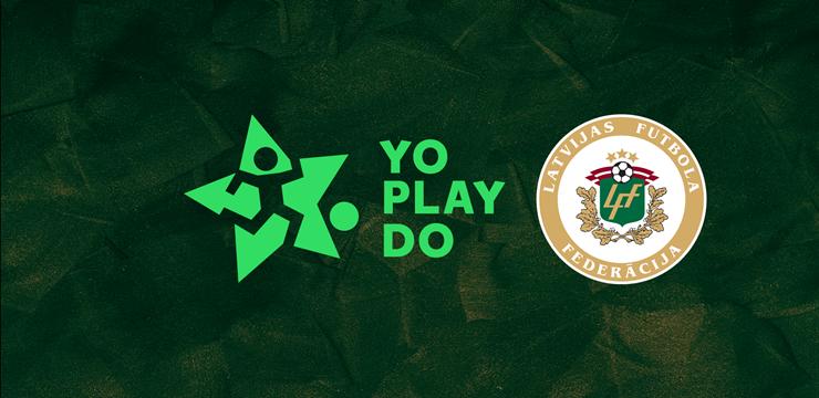 """Latvijas Futbola federācija turpinās sadarbību ar """"YoPlayDo"""""""
