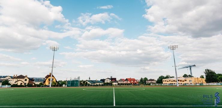 Atklāts rekonstruētais Salaspils stadions