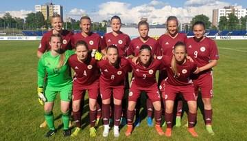 Sieviešu izlase neiekļūst Baltijas kausa finālā