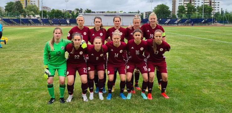 Sieviešu izlasei neveiksmīgs Baltijas kausa turnīrs