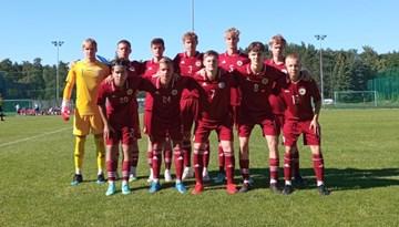 U-17 jaunieši pārliecinoši apspēlē Igauniju