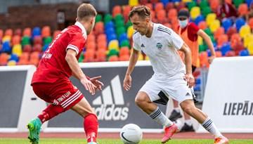 Latvijas klubi Eirokausu ievadā bez uzvarām