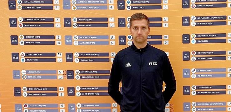 """J. Ivušinam darba pilnas rokas """"Euro Winners Cup 2021"""""""